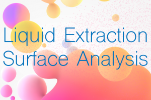 Extractables & Leachables Extraction Techniques. Part 9: Liquid Extraction Surface Analysis (LESA)