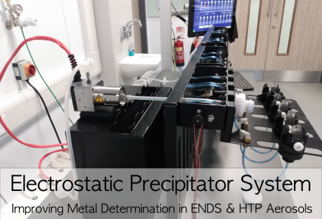 Electrostatic Precipitator System: Lowering detection limits for determination of metals in ENDS & HTP aerosols
